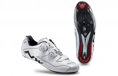chaussures route northwave extreme blanc noir