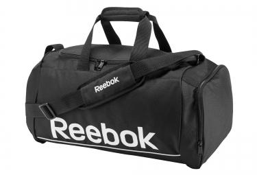 reebok sac de sport royal noir blanc