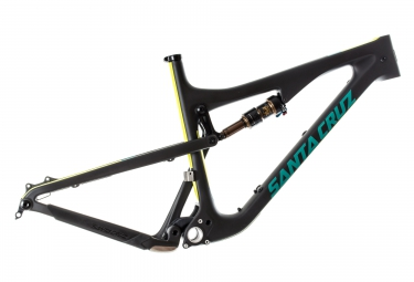 cadre santa cruz 5010 2 cc carbone 27 5 fox float factory evol 130mm noir jaune