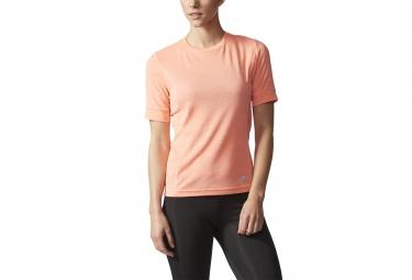 adidas t shirt femme supernova rose