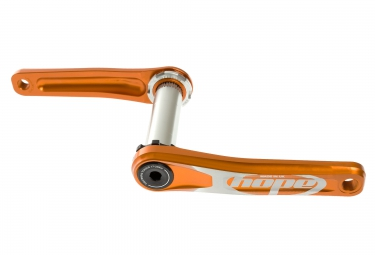 hope manivelles mono 68 73mm orange sans spider ni plateau