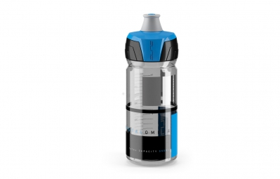 elite bidon crystal ombra 550 ml bleu