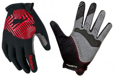 bluegrass 2016 paire de gants magnete rock noir rouge