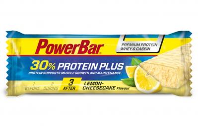 powerbar barre protein plus 30 55gr citron cheesecake