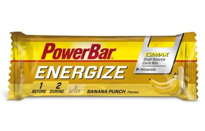 powerbar barre energize c2max 55gr banane