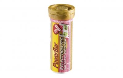 powerbar 5 electrolytes 10 comprimes pamplemousse rose
