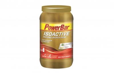 powerbar boisson energetique isoactive fruits rouges 1320gr