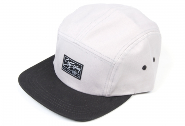 staystrong casquette camper 5 panel noir gris