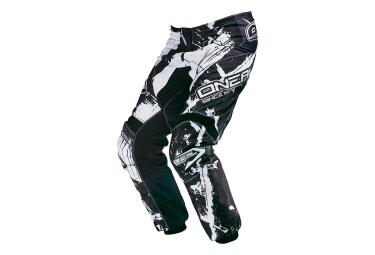 oneal 2015 pantalon element shocker noir blanc