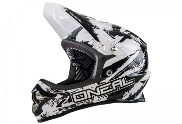 casque integral oneal backflip fidlock dh rl2 shocker 2016 noir blanc