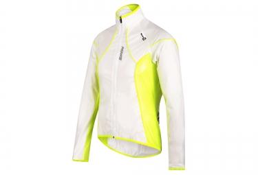 santini veste impermeable ice blanc jaune