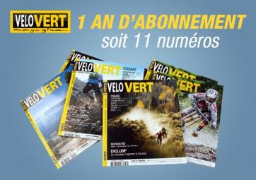 abonnement 1 an a velovert livraison europe
