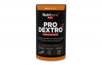 nutrisens boisson energetique pro dextro pot de 450g the peche