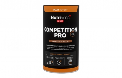 nutrisens boisson energetique competition pro 600g chocolat