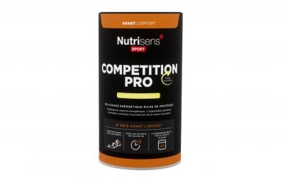 nutrisens boisson energetique competition pro 600g vanille
