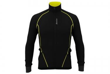 santini veste coupe vent nova noir jaune