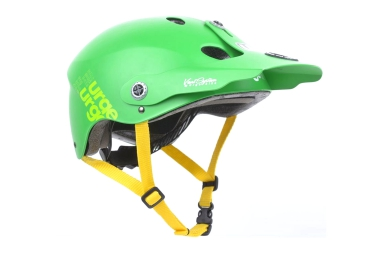 urge casque all in vert