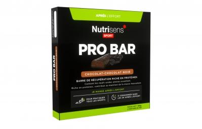 nutrisens barre de recuperation pro bar 3 x 35g chocolat