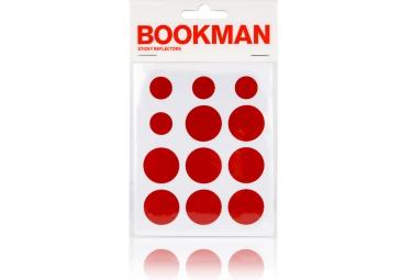 bookman stickers reflechissant rouge