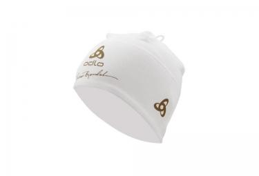 odlo bonnet polyknit fan bjoerndalen blanc or
