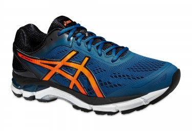 asics gel pursue 2 bleu orange