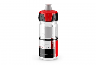 elite bidon crystal ombra 550 ml noir rouge