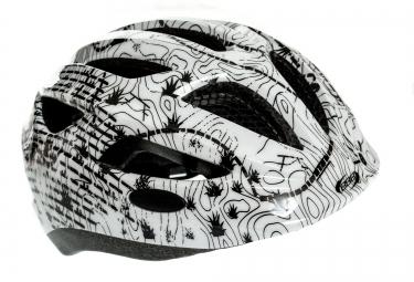 bbb casque hero taille unique 51 55cm blanc