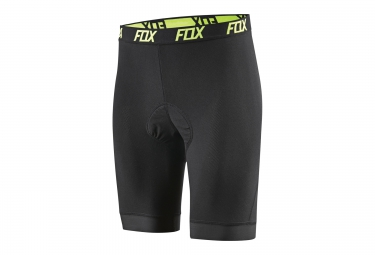 fox sous short evolution comp liner short noir