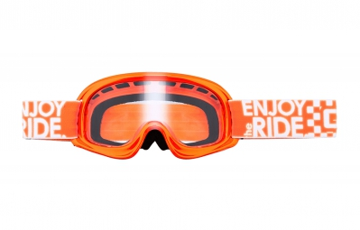 oneal 2016 masque rl orange fluo ecran transparent