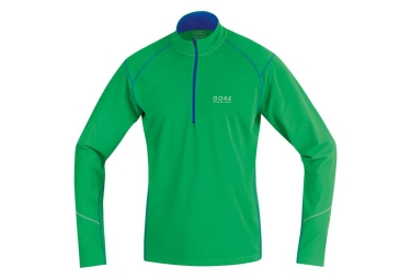 gore running wear maillot essential long vert