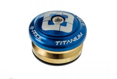 pride racing jeu de direction ti45 titanium bleu