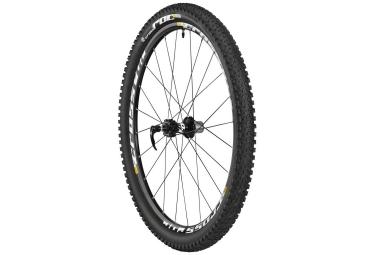 mavic roue arriere crossroc 27 5 axe 135x9mm qr corps de roue libre shimano pneu cro