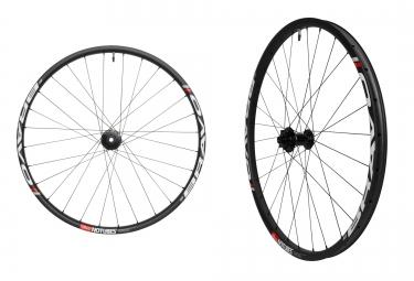 notubes paire de roues tl ready carbone bravo team 27 5 av 15x100 mm ar 12x142 mm co