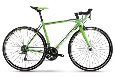 haibike 2016 velo complet race 8 10 shimano claris 8v vert blanc