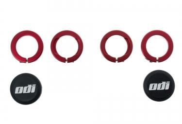 odi bagues lock on aluminium rouge