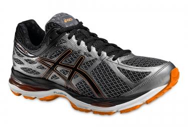 chaussures de running asics cumulus 17 noir orange