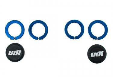odi bagues lock on aluminium bleu