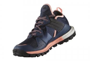 chaussures adidas response tr boost bleu noir rose
