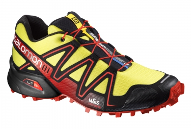 salomon speedcross 3 jaune noir rouge