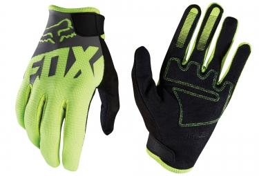 fox gants longs ranger jaune