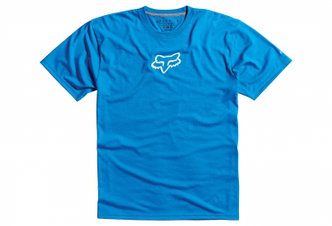 fox tee shirt tournament tech tee bleu
