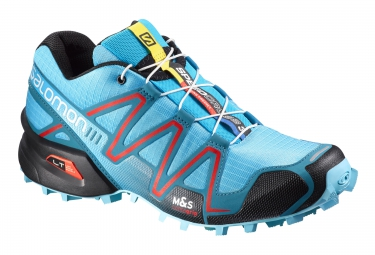 salomon speedcross 3 bleu noir rouge