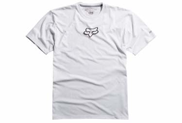 fox tee shirt tournament ss tech tee blanc