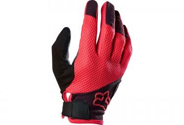 fox paire de gants longs femme reflex gel rose