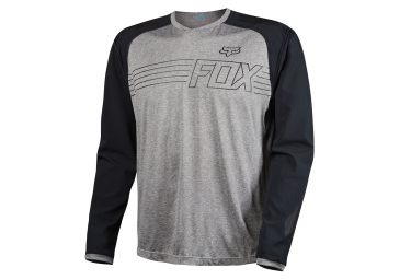fox maillot manches longues explore heather gris