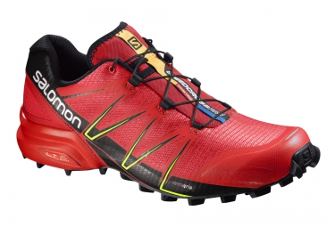 salomon speedcross pro rouge noir