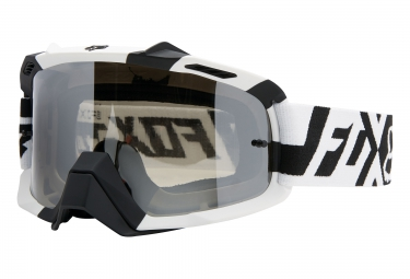 fox masque air space divizion spark blanc noir noir