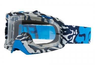 fox masque air space cauz blanc bleu ecran clear