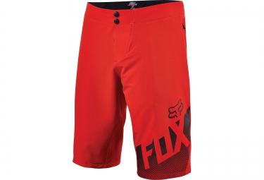 fox short avec peau altitude rouge