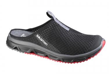 salomon chaussures de recuperation rx slide 3 0 noir rouge